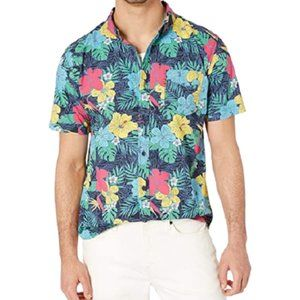 Levi's Lembert Poplin Hawaiian Floral Button Down
